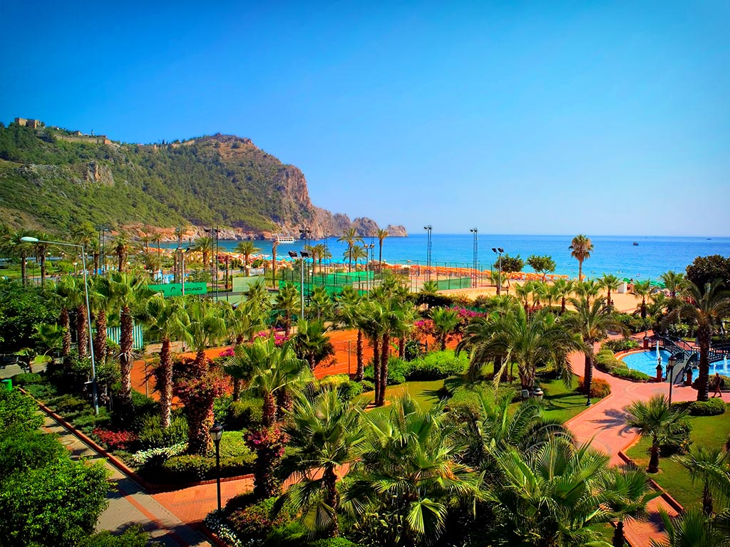 Alanya Parks and Tea Gardens