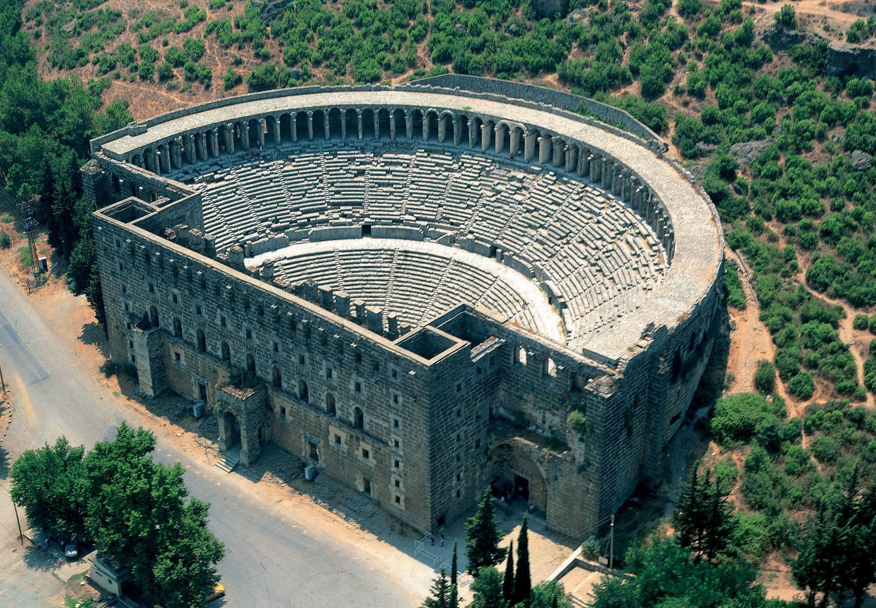 Alanya Alanya'dan Kurşunlu Aspendos Side Turu